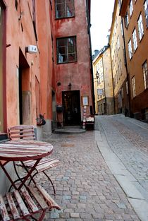 Altstad Stockholm  by tinadefortunata
