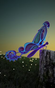 Print-butterfly
