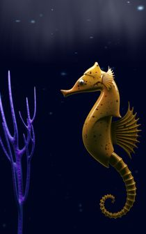 Solid seahorse by csicso