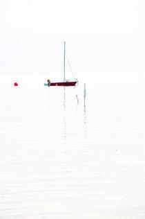 Boot auf der Nordsee von Michael Schickert