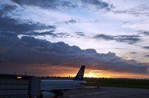 New Zealand Airlines flight from Fiji by Mike Rudzinski