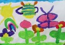 insectes et jardin by NourYas Arts