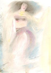 Danseuse von NourYas Arts
