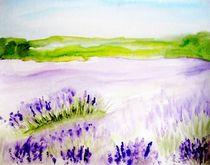 Lavendelfelder von Maria-Anna  Ziehr