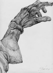 Hand and Watch von David Bodenstein