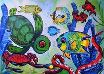 Angelfish Reef by Deborah Willard