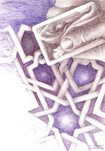 Mosaic design by NourYas Arts
