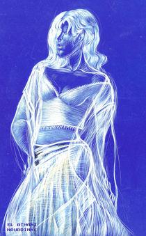 Femme danseuse von NourYas Arts