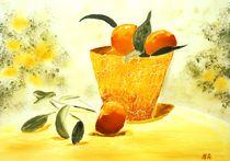 Orangensommer von Maria-Anna  Ziehr