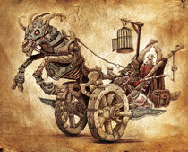 Chariot of the Unborn by Mario Veltri