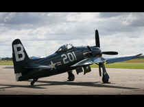 Warbird - F8F Bearcat by Christian Damm