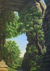 Innere Natur/ Felsentor von Ute Hegel