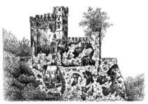 Schloss Rheinstein von Deborah Willard
