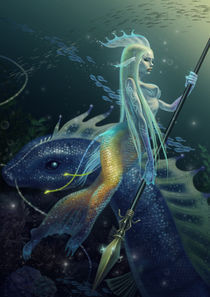 THE FAIRY OF SEA  von wei-yang
