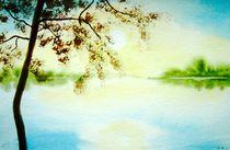 'Stille am See (Silence)' von Atelier Ziehr