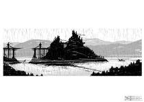 Lonely Castle von Thierry De Wolf