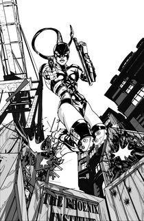 Black Scorpion 1 by Daniel  Cucvhacovich