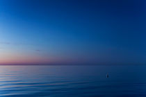 Dusk over the sea by David Pinzer