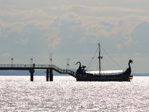 Baltic Sea Viking Boat by Krzysztof Adamin
