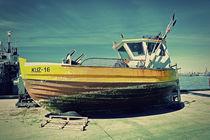 Boat with water by Krzysztof Adamin