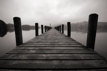 Jetty on Coniston Water, Cumbria von Craig Joiner