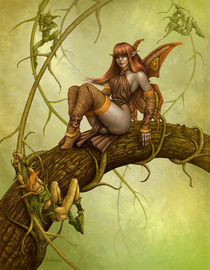 'Dark Fairy' von Alejandro Gutierrez Franco