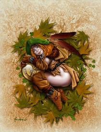 Sleepy Brownie von Alejandro Gutierrez Franco