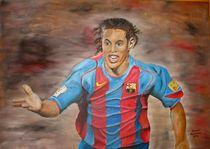 Nationalspieler von Brasilien Ronaldinho von Silvana Czech