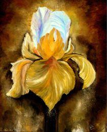 Golden Flower von Silvana Czech