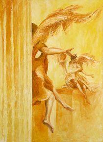 gelbe Engel by Renate Berghaus