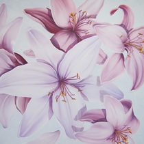 Lilien 2 by Renate Berghaus