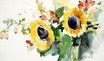 Sonnenblumen von Beate Steinebach