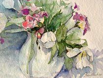 Tulpen und Fresien by Beate Steinebach