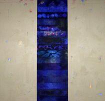Blau leuchtend, 2007 von Marlies Blauth