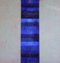 'Blauer Streifen, 2007' von Marlies Blauth