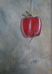 Paprika am Faden by Thomas Schöne