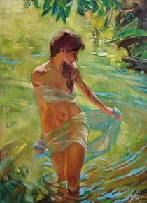 The allegory of summer by Sergey Ignatenko