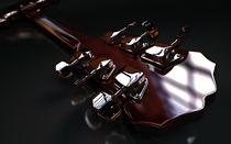 Red Gibson Neck von Joel Gafford