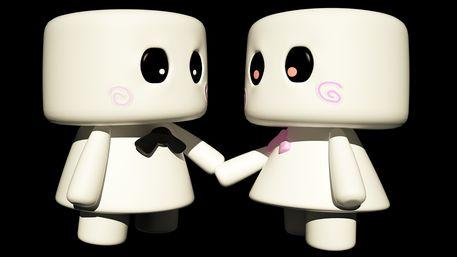 Marshmallow-couple
