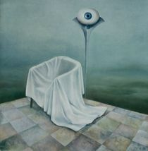 Verlassener Raum von Nicola Klemz (Knop)