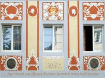 Offenes Fenster von Gerhard Bär