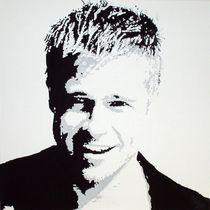 Brad Pitt von A 3400 Acrylbilder Günther Roth