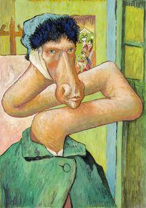 Vincent van Gogh: Selbst mit ohne Ohr (Giraffe) von Martin Mißfeldt