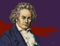 Ludwig van Beethoven by Martin Mißfeldt
