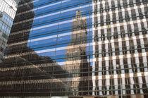 Spiegelung in N.Y. von Claudia Färber