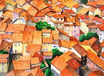 Über den dächern in der Toscana von Thomas Suske
