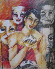 WHAT SHOULD I WEAR....... von Brigitte Hintner