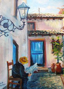 Altstadtidylle von Helga Anders-Faber