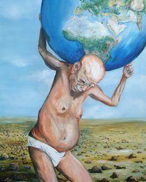 Atlas kommt in die Jahre von Helga Anders-Faber