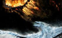 Big dragons battle by poiana  marian